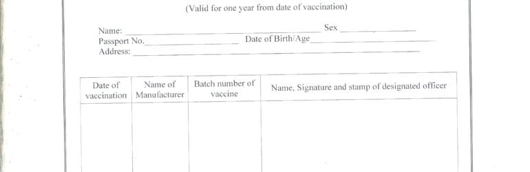 Oral Polio Vaccination (OPV) Requirements from India - Chalo Africa