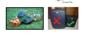 African safari suitcase size recommendations & luggage weight restrictions