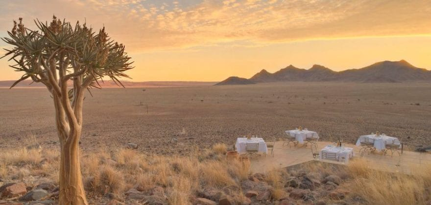 Sossusvlei Desert Lodge Honeymoon Offer