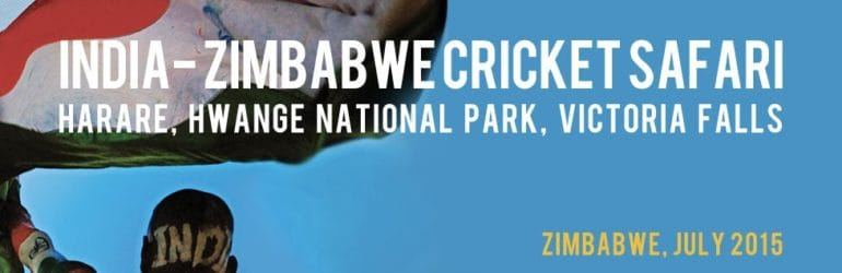 India Zimbabwe Cricket Safari