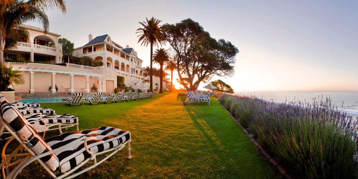 Begin your South Africa tour at Ellerman House, Cape Town.