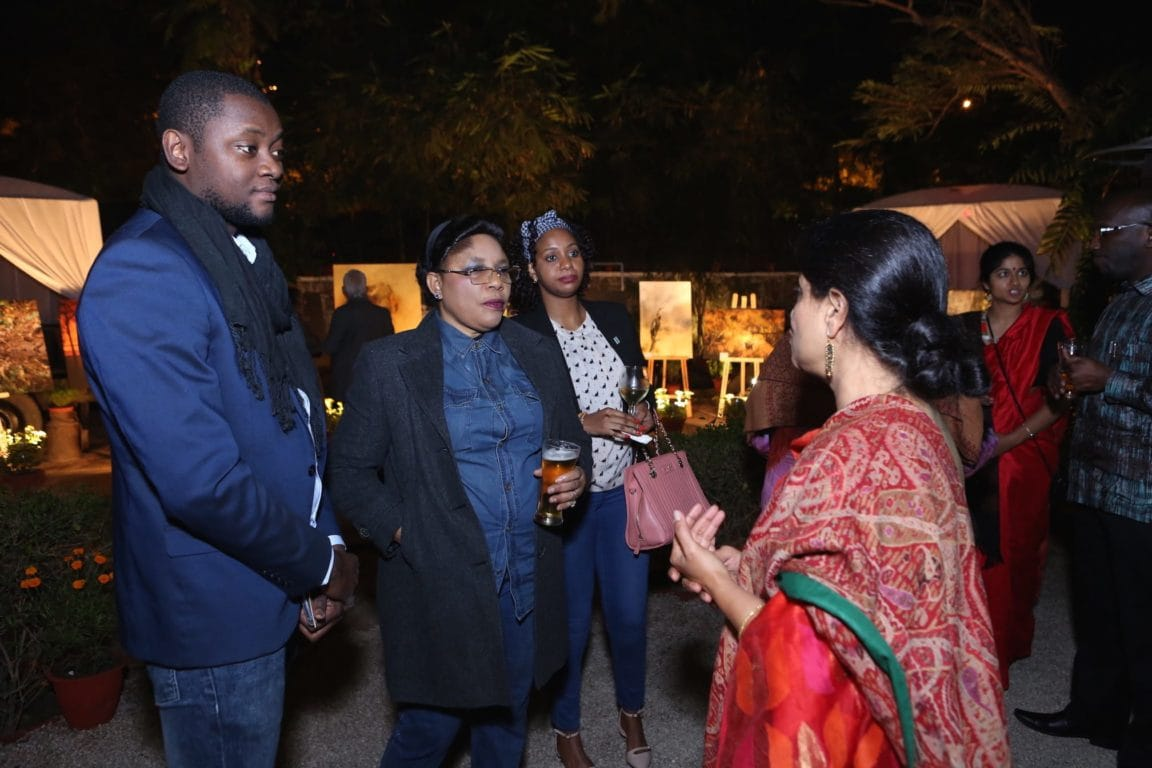 Guests of Chalo Africa at the event