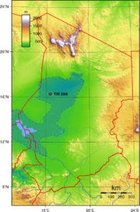 Chad Topography