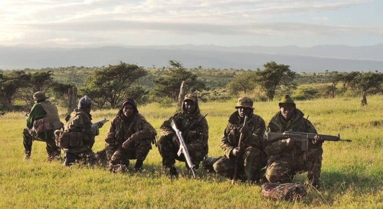 anti-poaching team borana