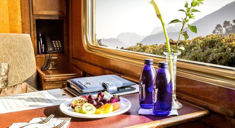 The Blue Train Interiors