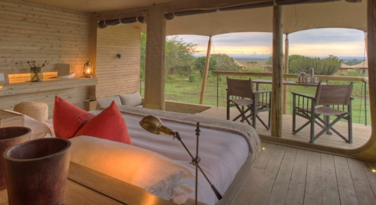 Kichwa Tembo Tented Camp Accommodation