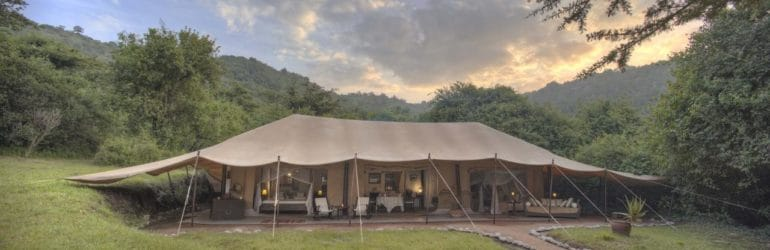 Cottar's Camp Tent View