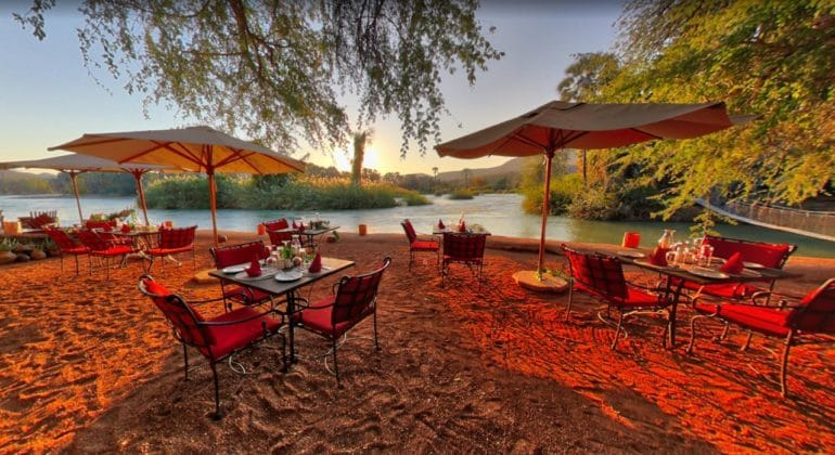 Epupa Camp Outdoor Dining