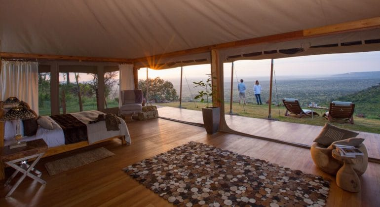 Loisaba Tented Camp Room
