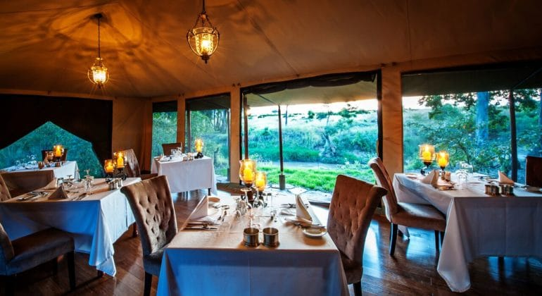 Sand River Dining Room