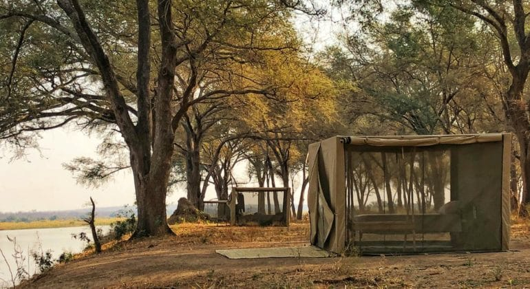 Tusk And Mane Safaris Fly Camp 1