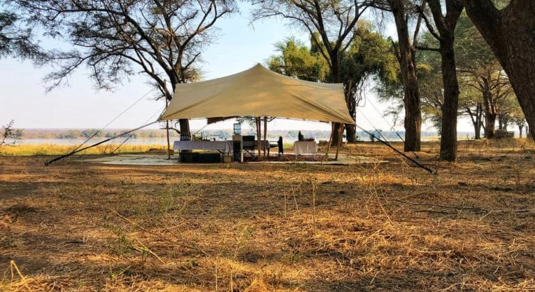 Tusk And Mane Safaris Fly Camp