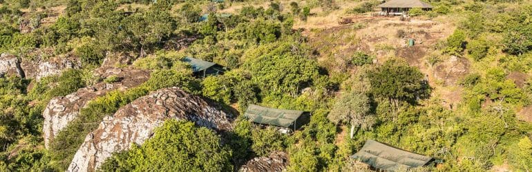 Siruai Expedition Camp Aerial View